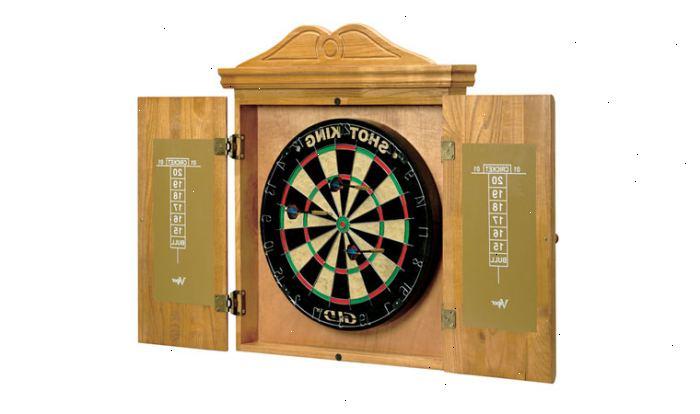 Hoe maak je een dartbord kast te maken e2a - Hoe je een scheiding in een ruimte te maken ...