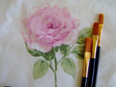 Hoe om bloemen te schilderen met acrylverf e2a - Hoe te krijgen roze in verf ...