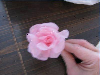 papieren bloemen vouwen