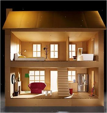 Hoe te poppenhuis meubels te maken van karton e2a for Meubels poppenhuis